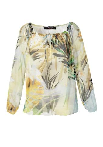 Aniston CASUAL Carmenbluse, mit Tropical-Print kaufen