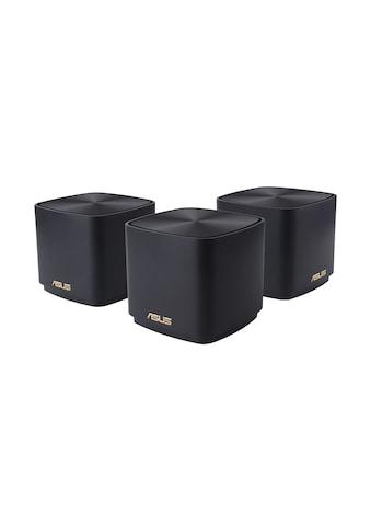 Asus WLAN-Router »AX1800 Daul band Mesh WiFi 6 System 3er Pack«, ZenWiFi AX Mini (XD4) kaufen