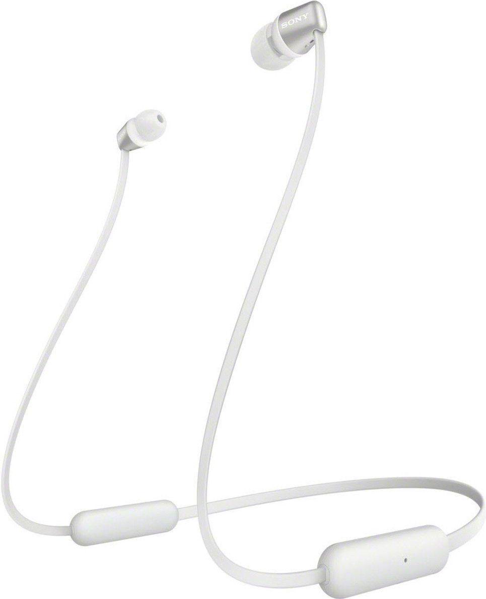 Sony In-Ear-Kopfhörer WI-C310 , A2DP Bluetooth-AVRCP Bluetooth-HFP-HSP, integrierte Steuerung für Anrufe und Musik