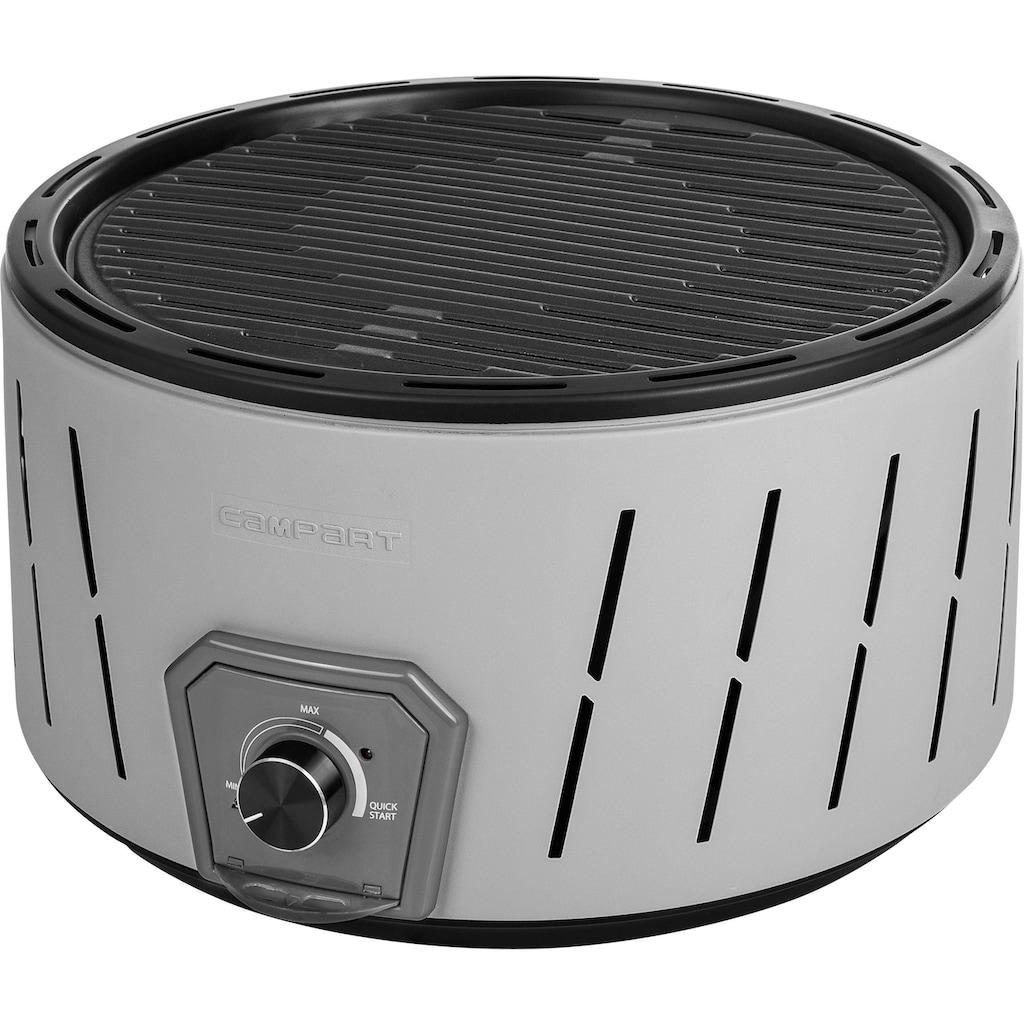 smartwares Holzkohlegrill »Albufeira BQ-6840«, inkl. Aufbewahrungstasche mit Schultergurt