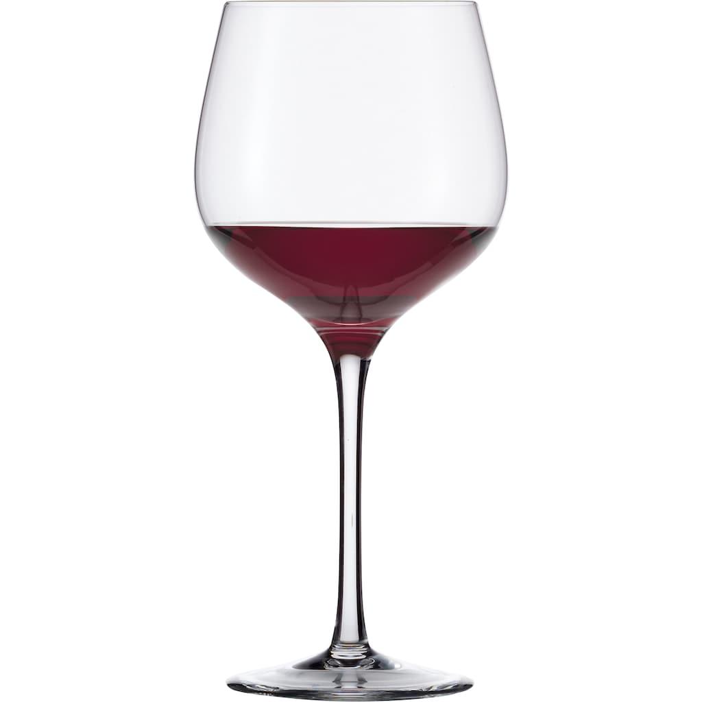 Eisch Rotweinglas »Superior SensisPlus«, (Set, 4 tlg.), (Burgunderglas), bleifrei, 680 ml, 4-teilig