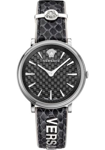Versace Schweizer Uhr »V - CIRCLE/ LOGOMANIA EDITION, VE8100919« kaufen