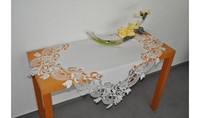 Mitteldecke, »Tischdecke Tulpenzauber«, Stickereien Plauen kaufen