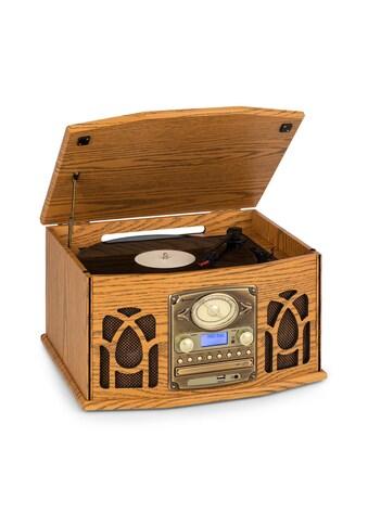 Auna Stereoanlage Holz Plattenspieler DAB+ CD - Player »MG - NR - 620 - DAB« kaufen