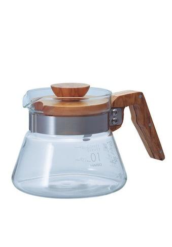 Hario Kaffeekanne »Coffee Server Olive Wood«, 0,4 l, Passend zu Hario V60 Kaffeefilter kaufen