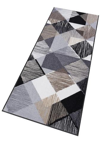 wash+dry by Kleen-Tex Läufer »Lines and Boxes«, rechteckig, 7 mm Höhe, In- und Outdoor geeignet, waschbar kaufen