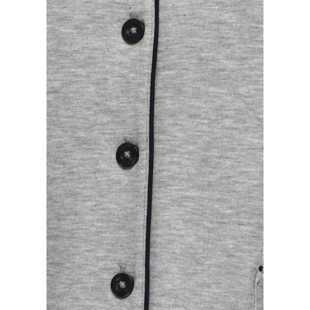 seidensticker Shorty, mit Kontrastpaspel-Details