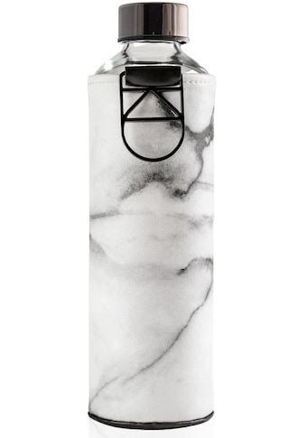 equa Trinkflasche »Mismatch Stone«, Borosilikatglas, mit Kunstlederhülle und Metallgriff, 750 ml kaufen