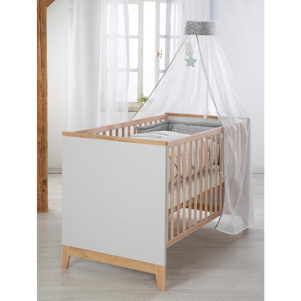 roba® Babyzimmer-Komplettset »Caro«, (Set, 3 St.), breit; mit Kinderbett, Schrank und Wickelkommode