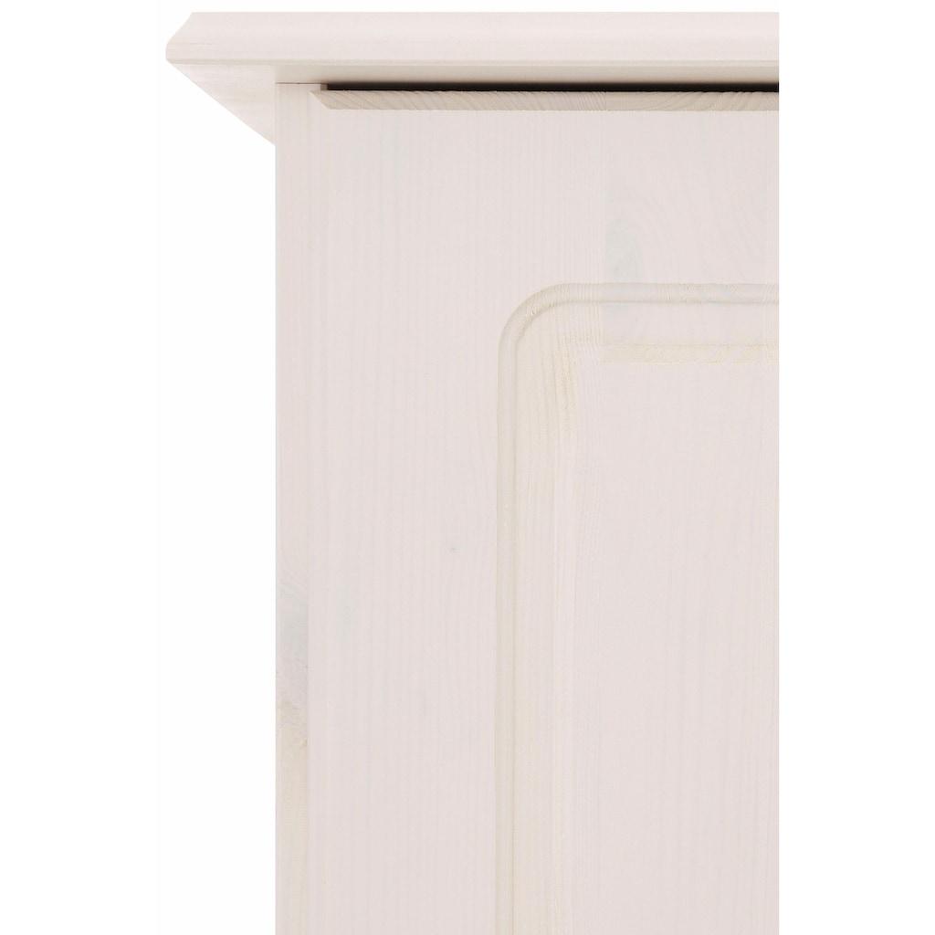 Home affaire Wäscheschrank »Minik«, mit schönem geschwungenem Fußsockel, in drei verschiedenen Farbvarianten