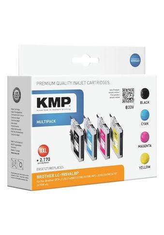 KMP Tintenpatronen - Set ersetzt Brother »LC - 985BK/C/M/Y« kaufen