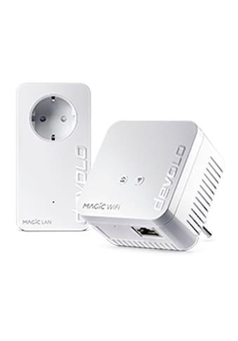 DEVOLO WLAN-Router »(1200Mbit, G.hn, Powerline + WLAN, Mesh)«, Magic 1 WiFi mini... kaufen