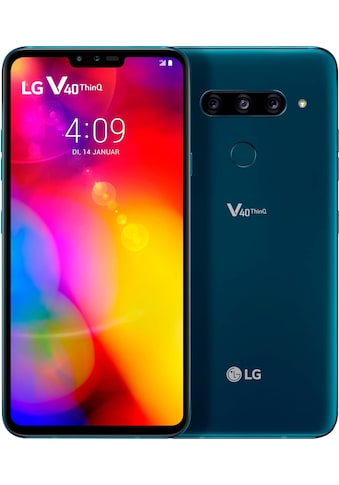 LG V40 ThinQ Smartphone (16,25 cm / 6,4 Zoll, 128 GB, 16 MP Kamera) kaufen