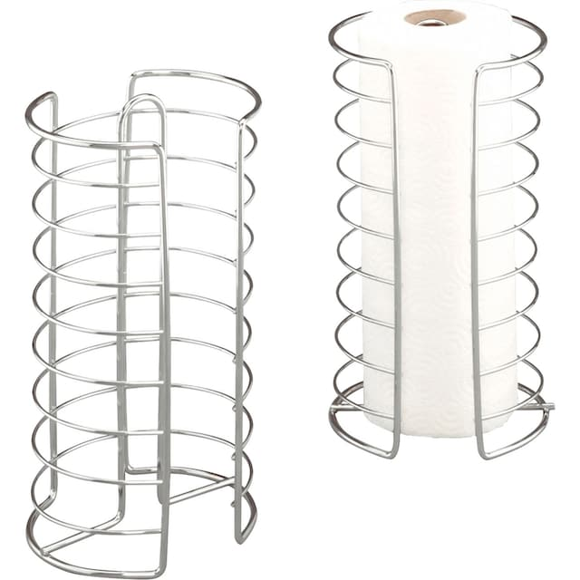 Zeller Present Küchenrollenhalter Metall, verchromt, (1-tlg.)