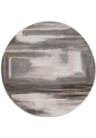 Carpet City Teppich »Noa 9261«, rund, 11 mm Höhe, Wohnzimmer kaufen