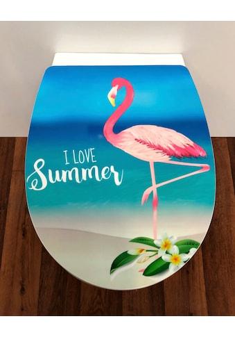 ADOB WC-Sitz »Flamingo«, Absenkautomatik, abnehmbar kaufen