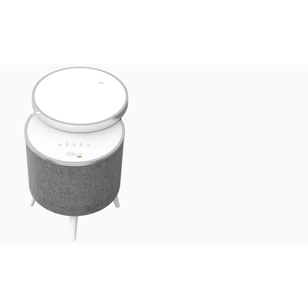 Block eleganter Bluetooth Lautsprecher Tisch