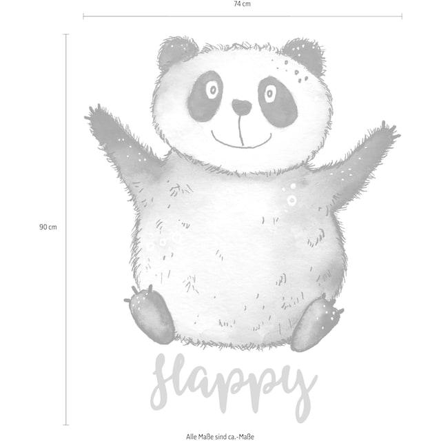 Wandtattoo »Happy Panda«