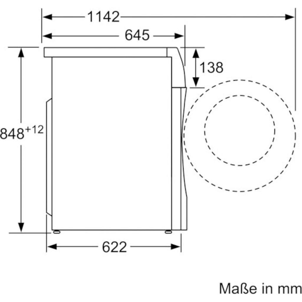 SIEMENS Waschtrockner »WD14U512«, iQ500