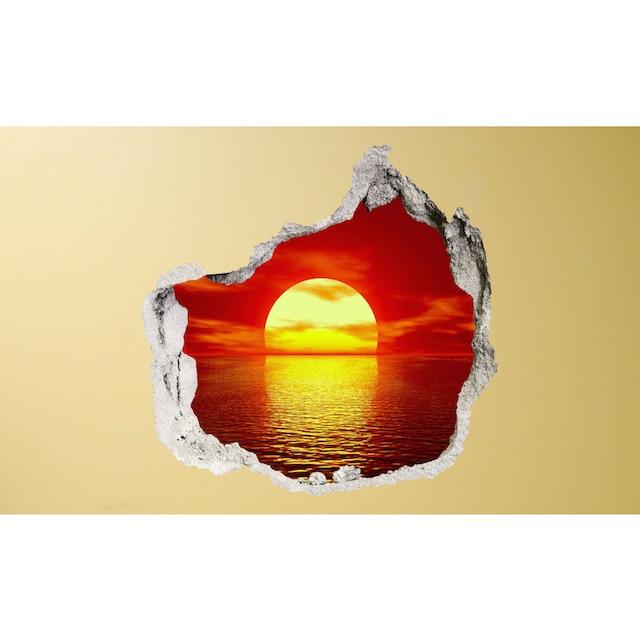 Conni Oberkircher´s Wandsticker »Sundowner«