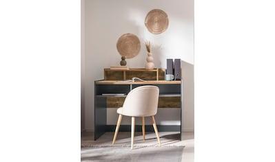 OTTO products Schreibtisch »Jaaron«, Breite 120 cm, 7 offene Fächer kaufen