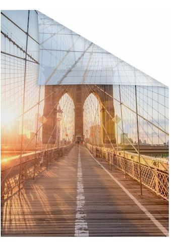 LICHTBLICK ORIGINAL Fensterfolie »Brooklyn Bridge«, 1 St., blickdicht,... kaufen