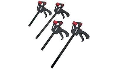 Brüder Mannesmann Werkzeuge Werkzeugset »Schnellspannzwingen-Satz«, 4-tlg., zum... kaufen