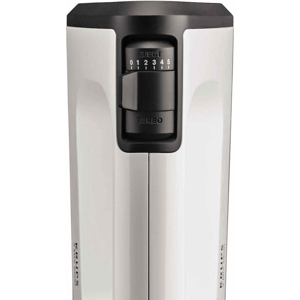 Krups Handmixer »GN5041 3 Mix 5500«, 500 W, 5 Geschwindigkeiten + Turbo- & Auswurftaste