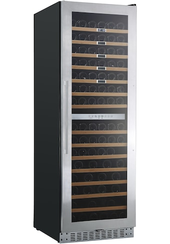 Hanseatic Weinkühlschrank »HWC171GCIA«, für 171 Standardflaschen á 075l, Edelstahlrahmen mit Anti-Fingerprint kaufen
