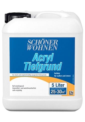 SCHÖNER WOHNEN-Kollektion Grundierfarbe »Acryl Tiefgrund«, 5 l kaufen