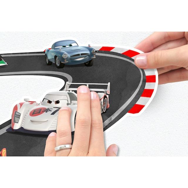 KOMAR Wandtattoo »Cars Track«, selbsthaftend, rückstandslos abziehbar