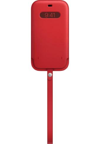 Apple Smartphone-Hülle »iPhone 12 Pro Max Lederhülle mit MagSafe« kaufen