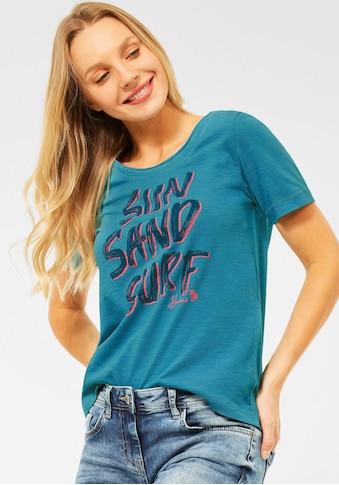 Cecil T-Shirt, mit sommerlichem Print kaufen