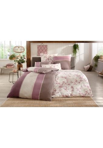 BIERBAUM Bettwäsche »Hannah«, mit schönen Blumen kaufen