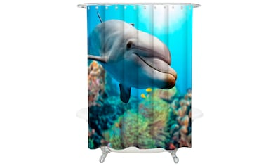 Sanilo Duschvorhang »Delphin«, Breite 180 cm kaufen