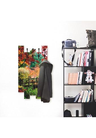 Artland Garderobenpaneel »Eine Brücke im japanischen Garten« kaufen