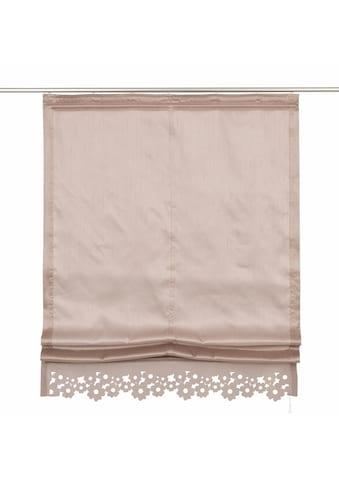 my home Raffrollo »VENEDIG«, mit Klettband kaufen