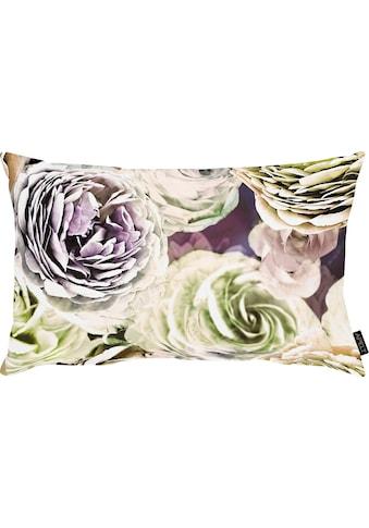 APELT Kissenbezug »Beatrice«, (1 St.), exklusives großformatiges Blumendesign kaufen