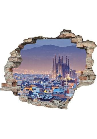 queence Wandtattoo »Stadt« (1 Stück) kaufen
