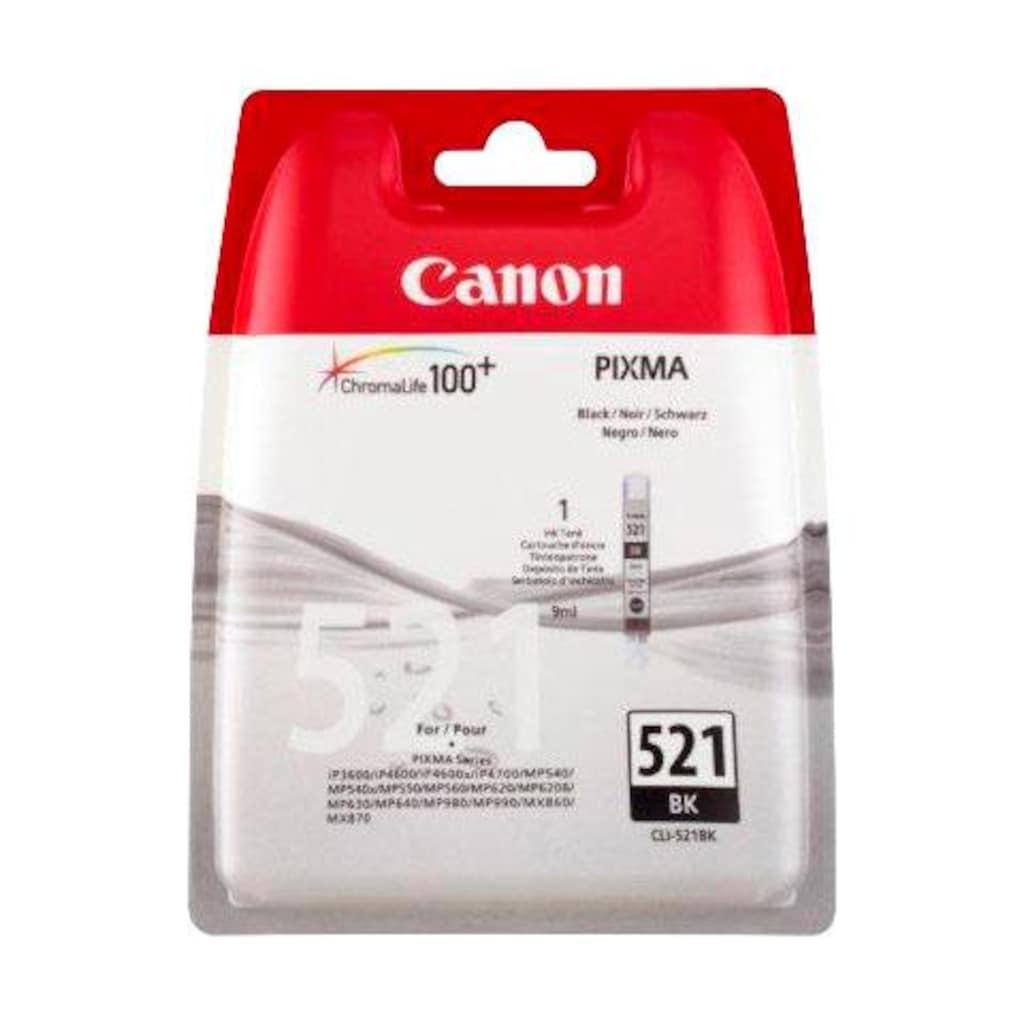 Canon Tintenpatrone »CLI-521BK, schwarz«