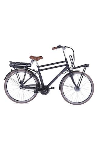 LLobe E-Bike »Rosendaal Gent 130865«, 3 Gang, Frontmotor 250 W, Gepäckträger vorne kaufen