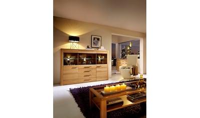 Innostyle Highboard »Nature Plus«, Breite 172 cm, 3 Glas-/Holztüren, 3 Schubkästen kaufen