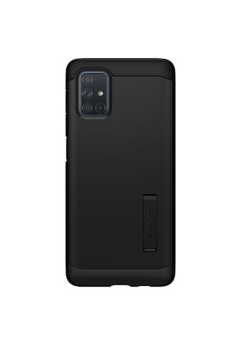 Spigen Smartphone-Hülle »Spigen Galaxy A71 Case Tough Armor«, Schwarz kaufen