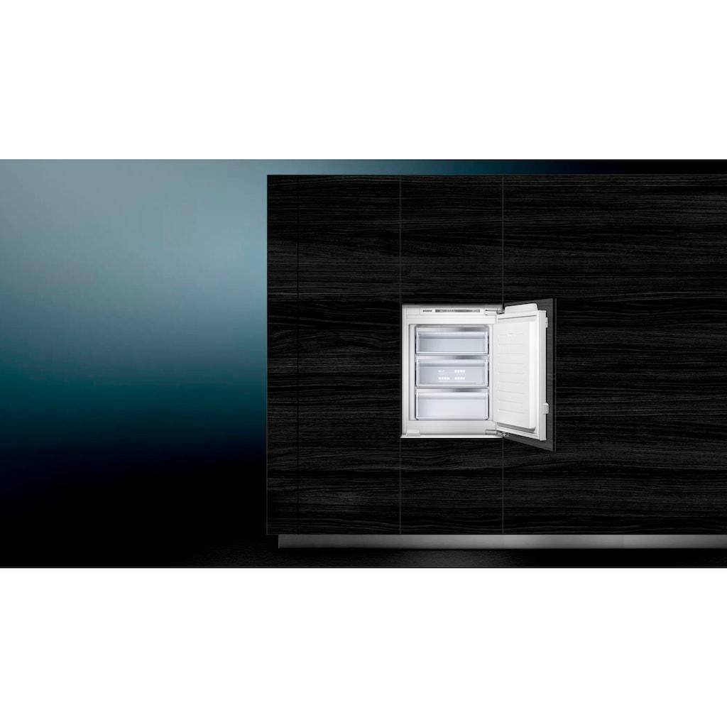 SIEMENS Einbaugefrierschrank »GI11VAFE0«, iQ500, 71,2 cm hoch, 56 cm breit