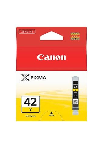Canon Tintenpatrone »CLI - 42 Y« kaufen