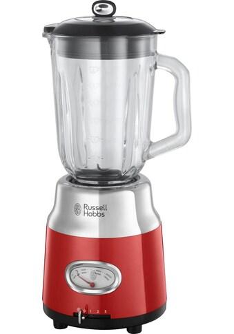 RUSSELL HOBBS Standmixer »Retro Ribbon Red 25190-56«, 800 W, 1,5 l Glasaufsatz kaufen