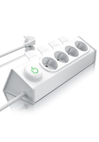 BEARWARE 4 - fach Steckdosenleiste mit Auswurfautomatik »Hebel zum einfachen Auswerfen von Steckern« kaufen