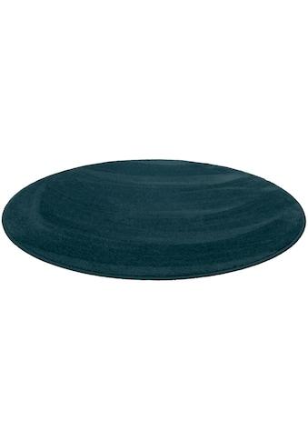 Living Line Teppich »Sweety rund«, rund, 15 mm Höhe, Soft Touch Velours, Wohnzimmer kaufen