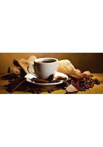 Home affaire Glasbild »Yastremska: Kaffeetasse,  - bohnen« kaufen