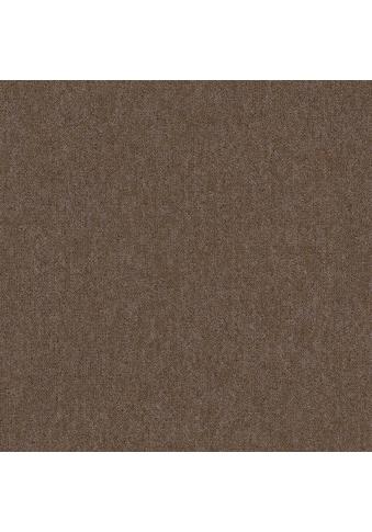 Teppichfliese »Neapel«, quadratisch, 3 mm Höhe, Camel, selbstliegend kaufen